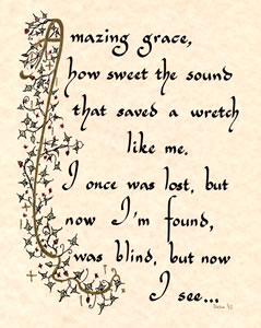 Amazing grace - Click Image to Close