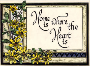 Home is where the heart is - Click Image to Close